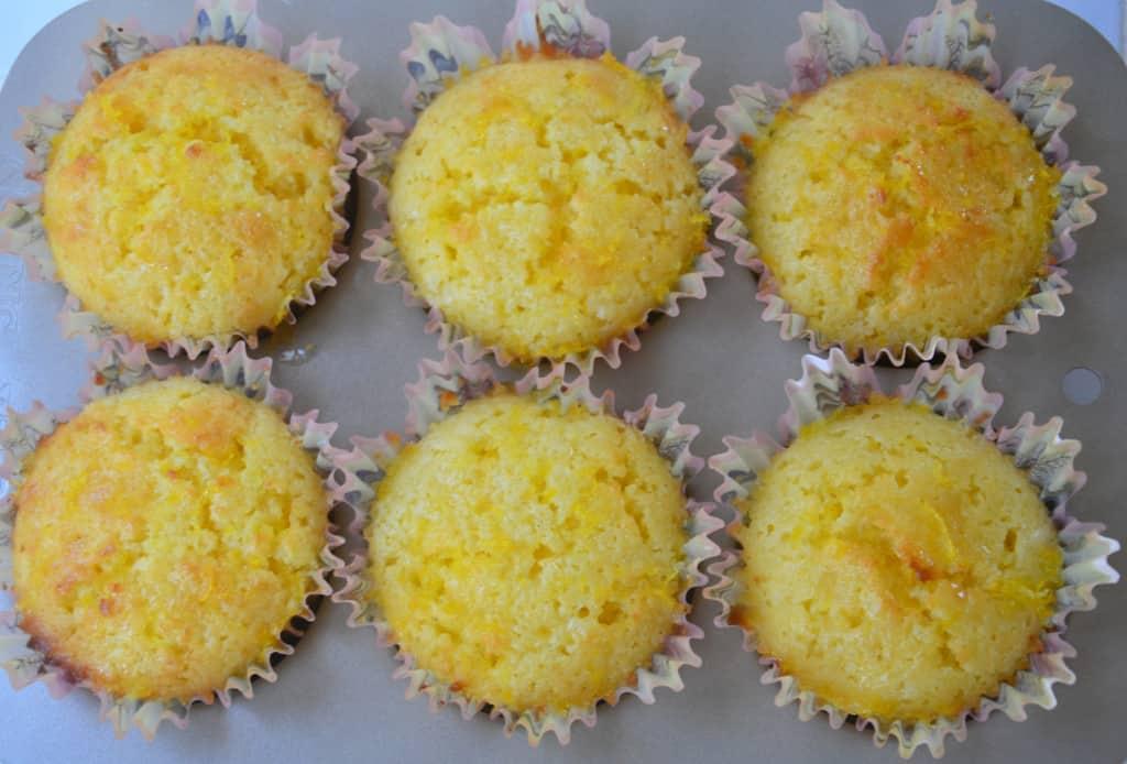 Lemon Drizzle Muffins (8)