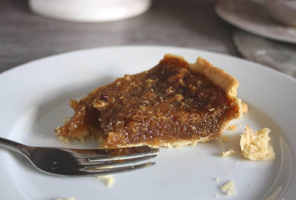slice of treacle pie