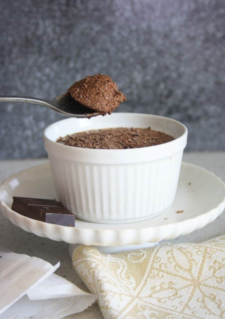 spoonful of mousse