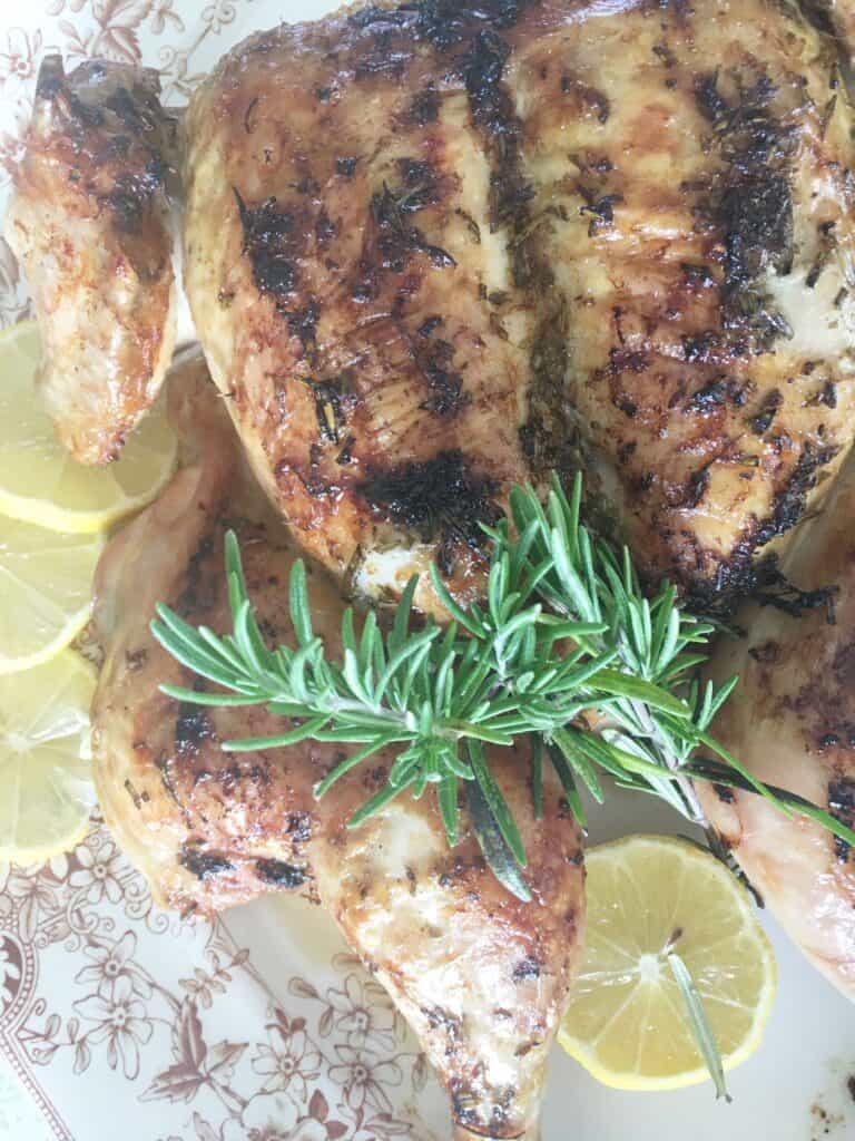 SSpatchcock chicken recipe